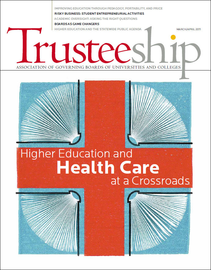 Higher Education and Health Care at a Crossroads, March/April 2011