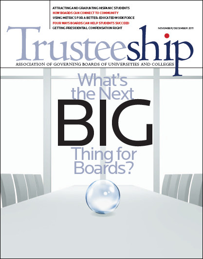 What's the Next Big Thing for Boards?, November/December 2011