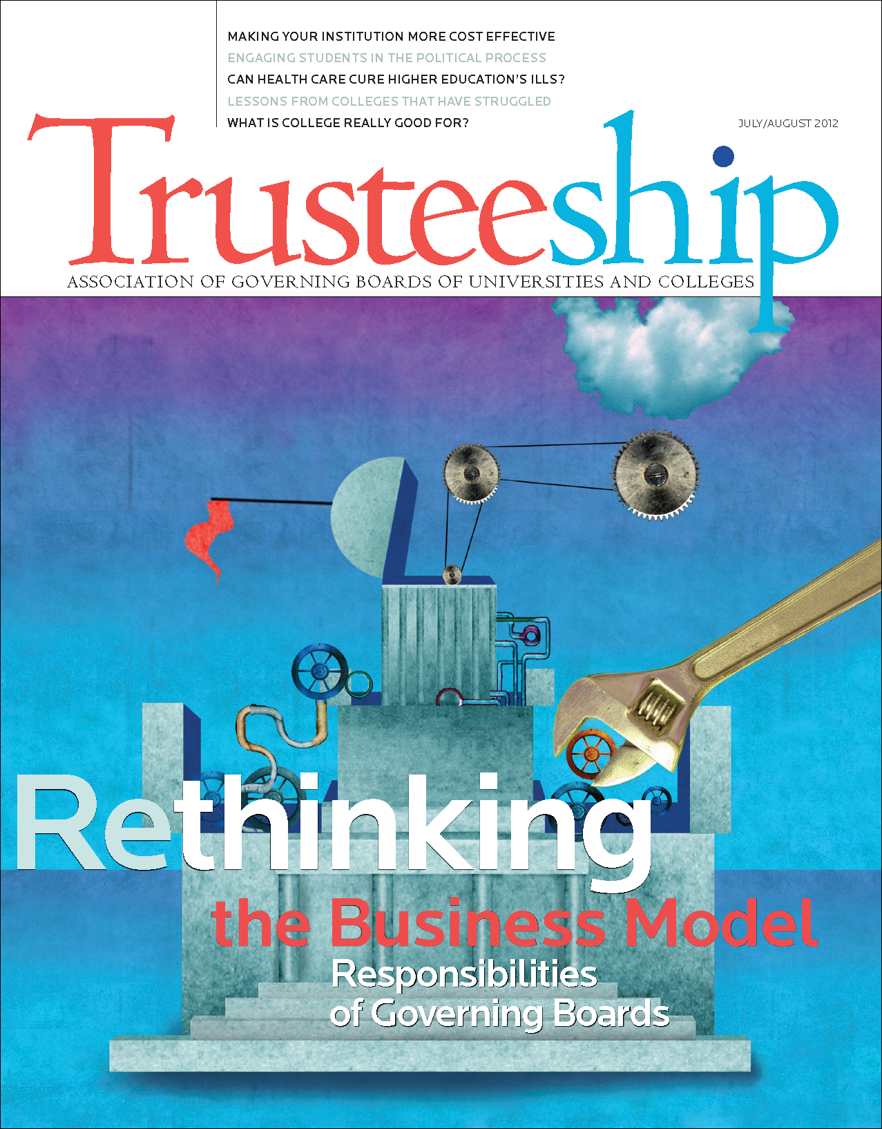 Rethinking the Business Model: Responsibilities of Governing Boards, July/August 2012