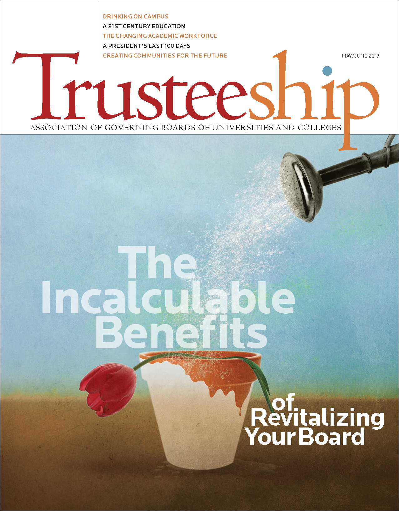 Trusteeship Issue: The Incalculable Benefits of Revitalizing Your Board - May/June 2013