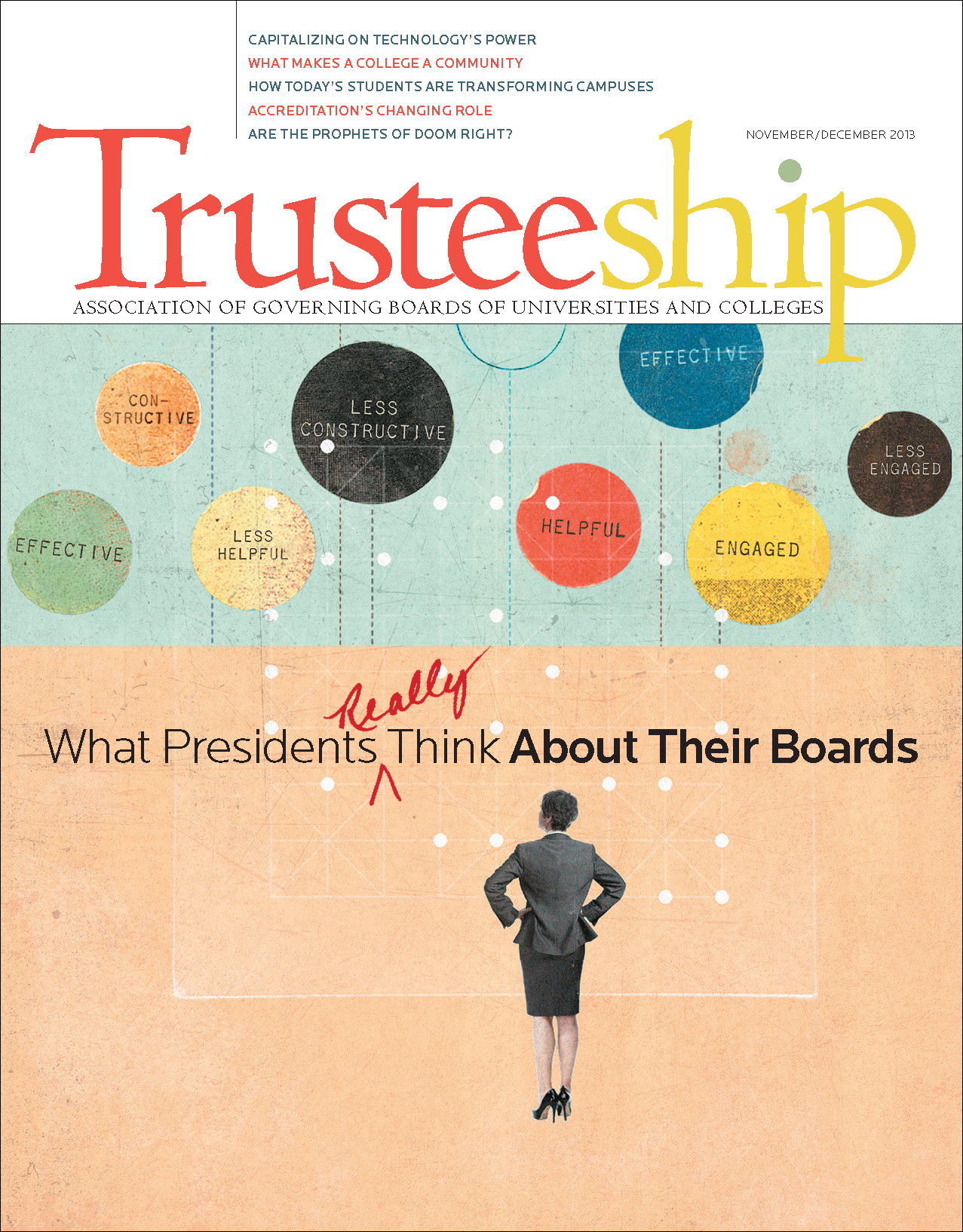 Trusteeship Issue: What Presidents Really Think About Their Boards - November/December 2013