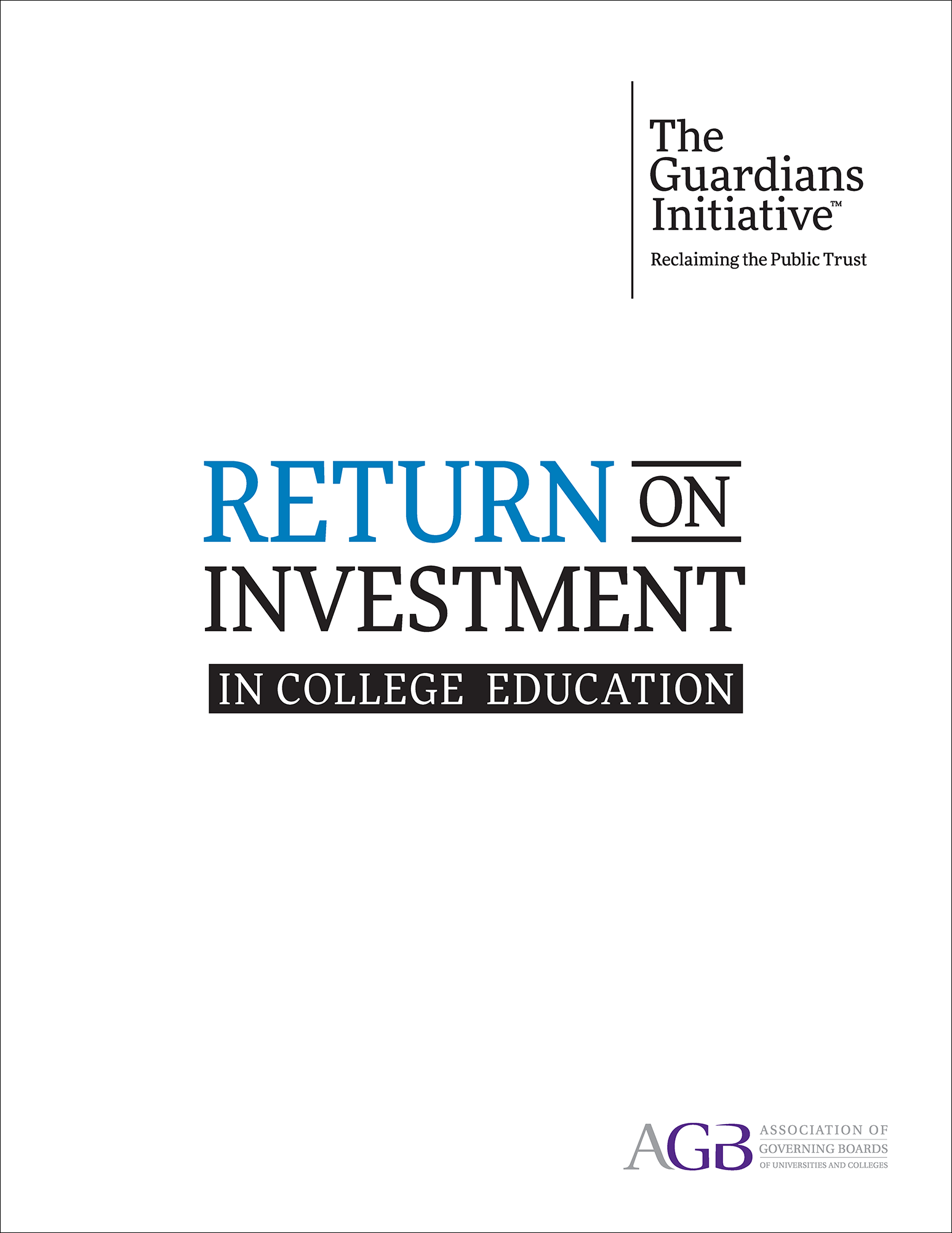 Return on Investment in College Education