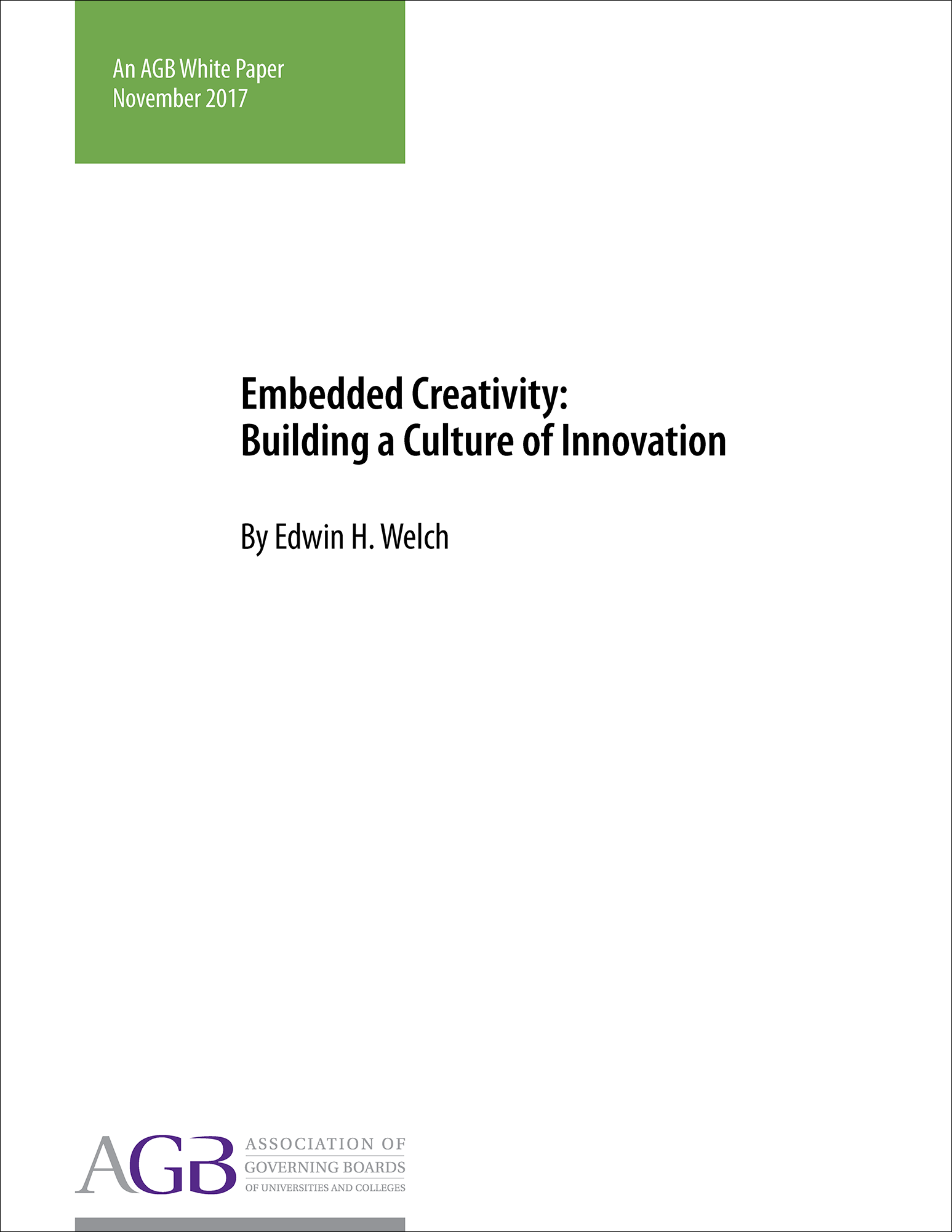 Embedded Creativity: Building a Culture of Innovation