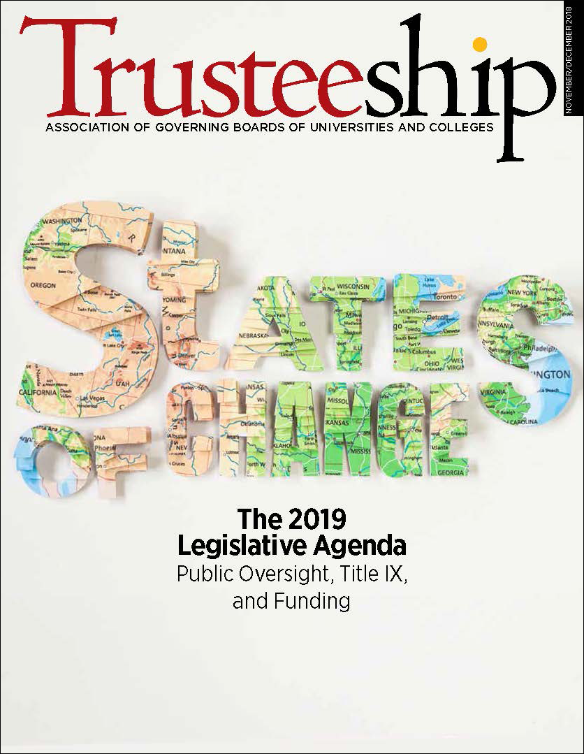 Trusteeship Issue: State of Change - November/December 2018