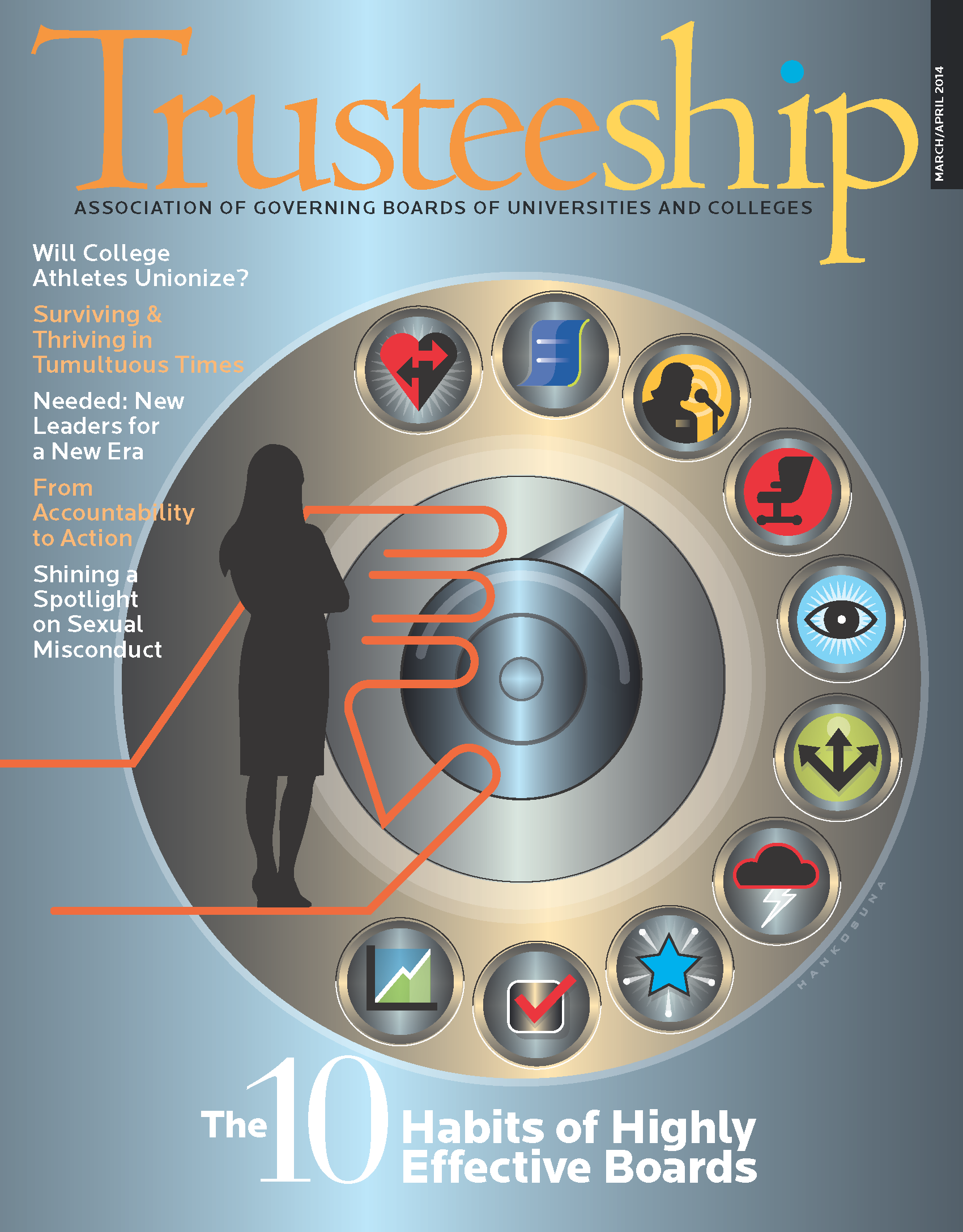 Trusteeship: The 10 Habits of Highly Effective Boards, March/April 2014