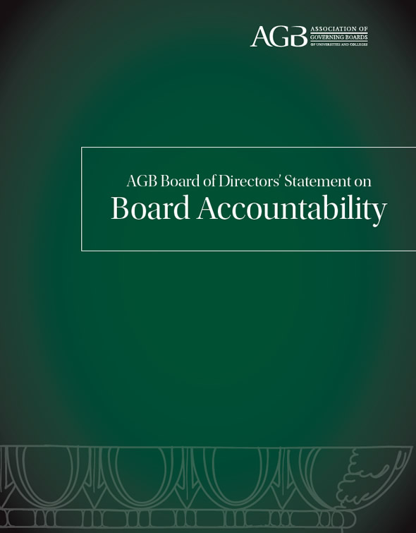 AGB Board of Directors' Statement on Board Accountability