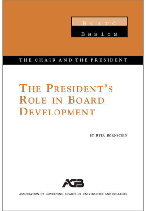 The President's Role in Board Development