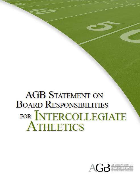 2009 Statement on Intercollegiate Athletics
