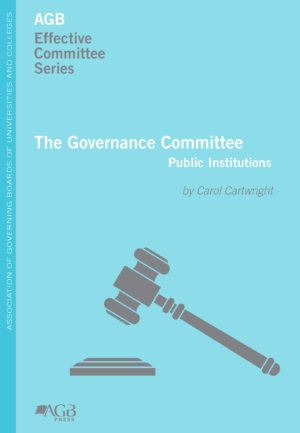 The Governance Committee (Public Institutions)
