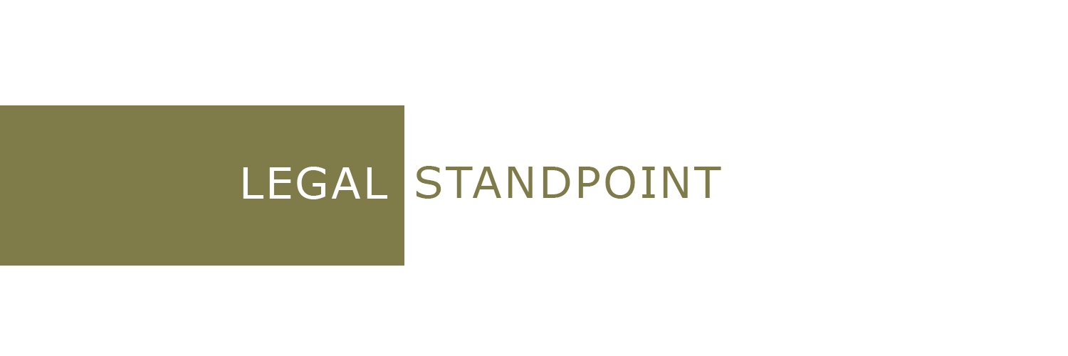 Legal Standpoint