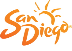 Logo for San Diego Tourism