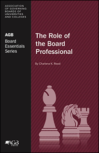 The Role of the Board Professional