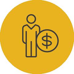 individual giving icon