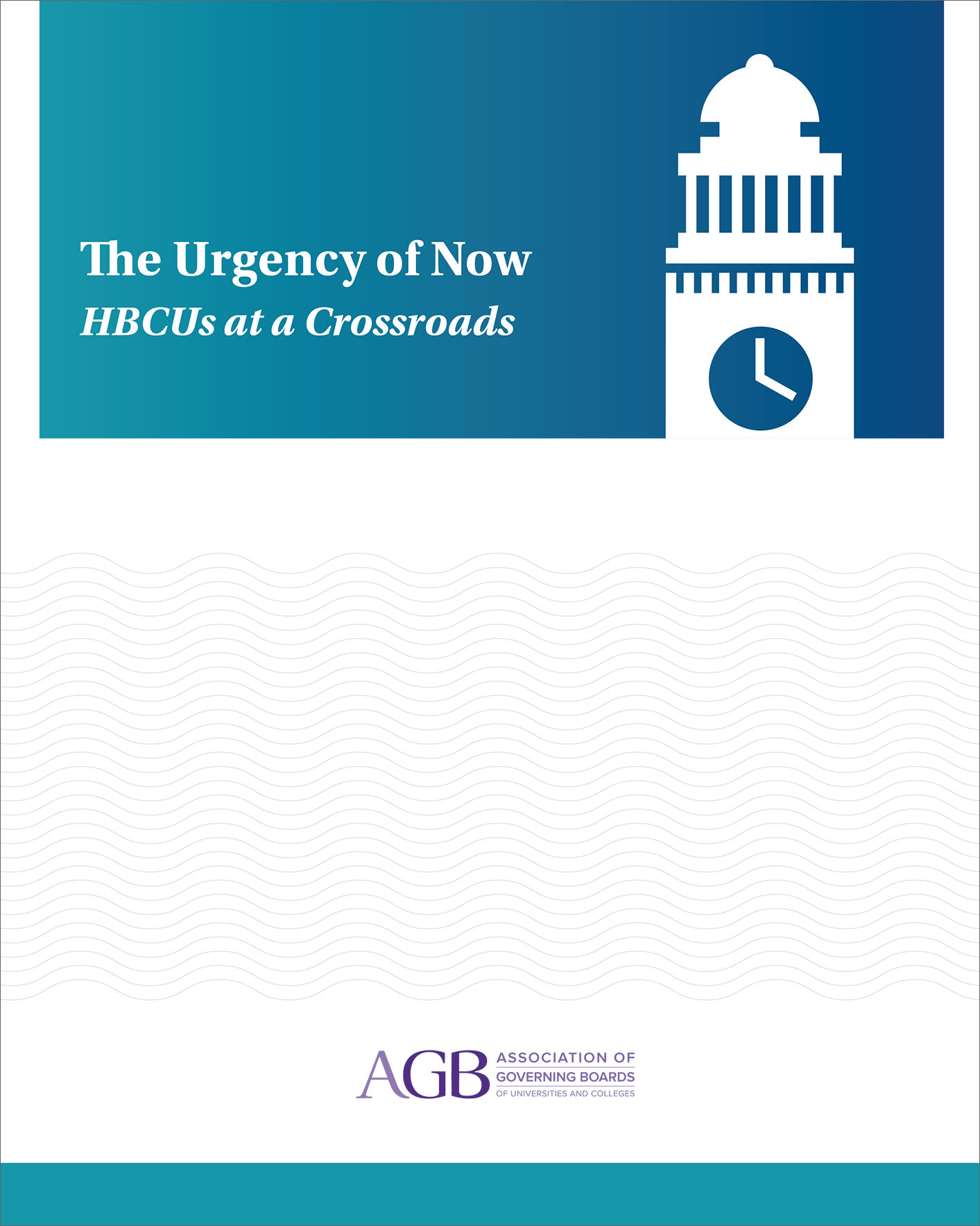 The Urgency of Now HBCUs at a Crossroads