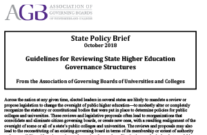 State Policy Brief October 2018