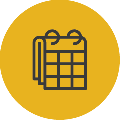Programming calendar schedule