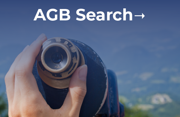 AGB Search: Find your institution's next leader.
