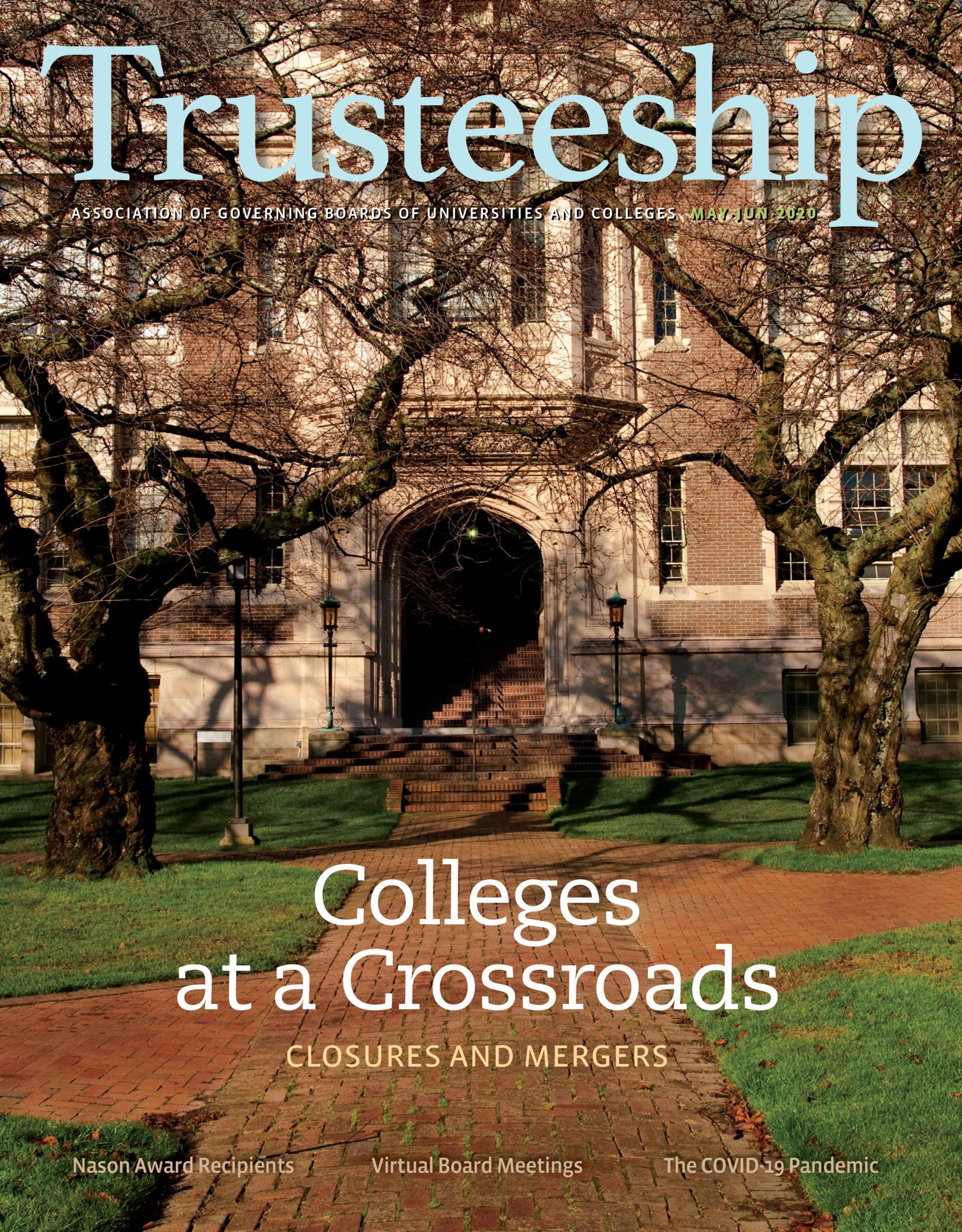 Trusteeship Magazine Cover: May/June 2020