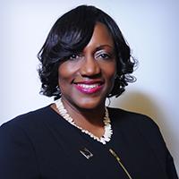 headshot of Dr. Vita Pickrum, President of the Delaware State University Foundation