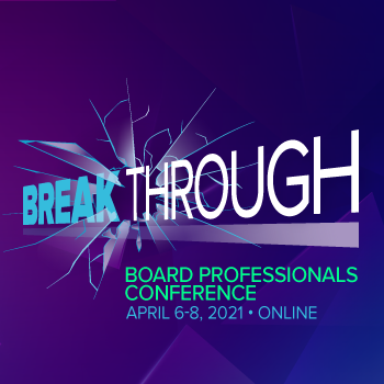 2021 Board Professional Conference
