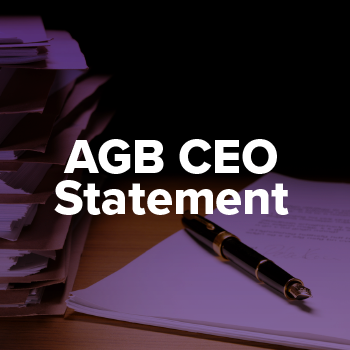 AGB CEO Statement