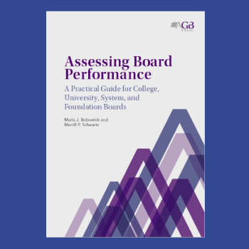 Assessing Board Performance book cover thumbnail