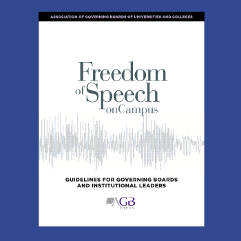 freedom of speech on campus book cover