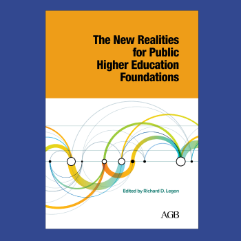 The New Realities for Public Higher education foundations book cover thumbnail