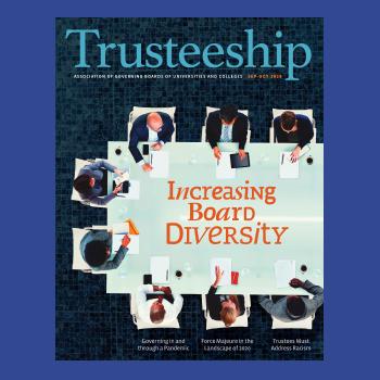Trusteeship magazine cover September October 2020 thumbnail