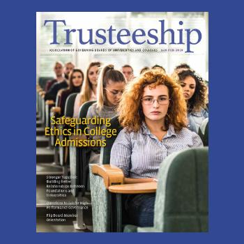 Trusteeship Magazine cover January February 2020 cover thumbnail