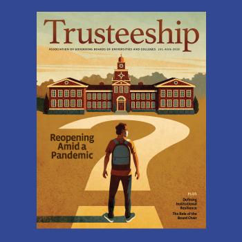 Trusteeship magazine cover July august 2020 thumbnail