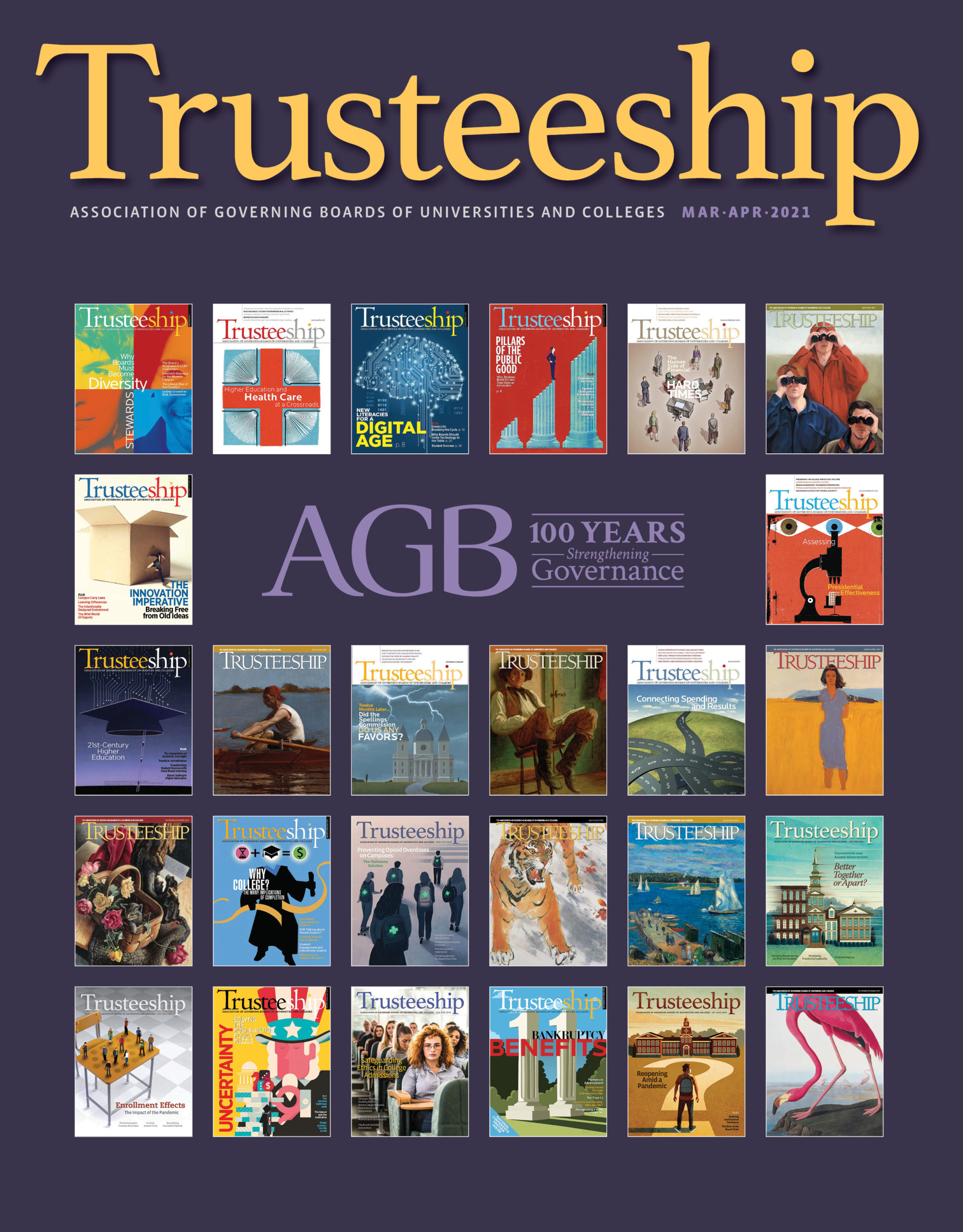 Trusteeship Magazine: March/April 2021 Cover