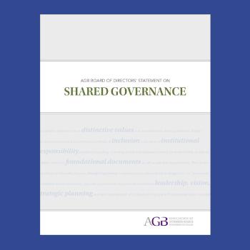 Shared Governance Cover Thumbnail