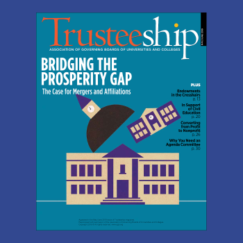 Trusteeship magazine cover May June 2019