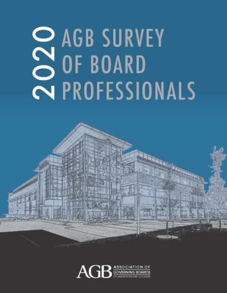 2020 AGB Survey of Board Professionals