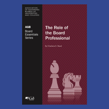 The Role of the Board Professional Book Cover thumbnail