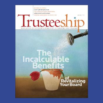 Trusteeship magazine cover May/June 2013 thumbnail