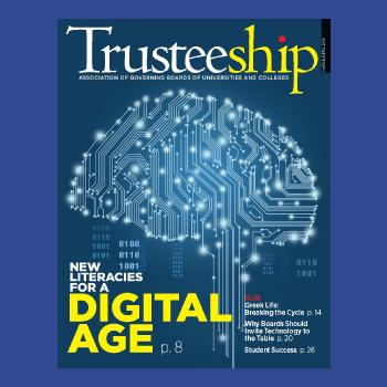 Trusteeship Magazine Cover Thumbnail, March/April 2018